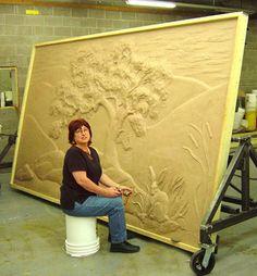 The Process concrete art