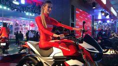 2014 Mahindra Mojo production version presented at Auto Expo 2014