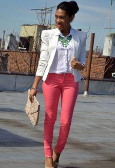 Peachy Clean  , Forever21 en Blazers, vigoss en Jeans
