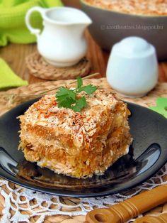 Az otthon ízei: Kolozsvári rakott káposzta Fish Recipes, Meat Recipes, Cooking Recipes, Croatian Recipes, Hungarian Recipes, Hungarian Cuisine, Hungarian Food, Just Eat It, Main Dishes