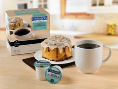 Keurig Brewing Just Got Sweeter: Green Mountain Coffee Roasters, Inc. and Cinnabon, Inc. Announce Partnership