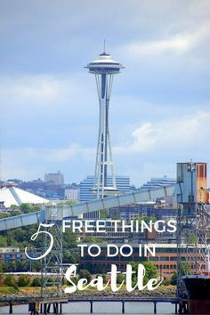 5 Fun and Free Things to do in Seattle, Washington with Kids USA with kids Seattle Vacation, Seattle Travel, Vacation Spots, Seattle In A Day, Seattle Food, Seattle March, Visiting Seattle, Things To Do Seattle, Seattle City