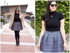 big lady in a flared skirt & tights - Google Search
