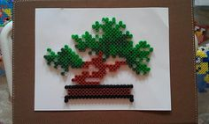 Bonsai hama perler beads