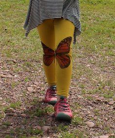 customizing the playtime leggings: iron-on images (via Bloglovin.com )
