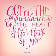 Abundance of the Heart Luke 645 by DropsofHoneyDesign on Etsy, $15.00