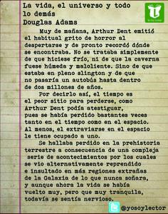 La vida, el universo y todo lo demás, de Douglas Adams.