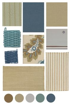 Color Boards | Cottage Style | The Distinctive Cottage