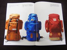 「THE SUKIMONO BOOK」第1号のバックパック特集