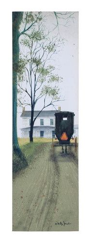 Welcome Home Picture. love this ...k Amish Farm, Amish Country, Country Farm, Billy Jacobs Prints, Amish House, Amish Community, Amish Culture, Farm Paintings, Farm Art