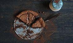 chocolate lime mud cake