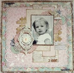 Scrapstuff and more: Once Upon a...Sketch November challenge Maja Vintage Summer Basics