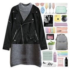 """""""#773"""" by giulls1 ❤ liked on Polyvore featuring moda, Potting Shed Creations, adidas Originals, Le Specs, Linum Home Textiles, Forever 21, Ribband, Living Proof, Topshop i NARS Cosmetics"""