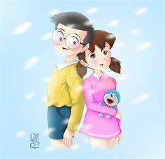 Nobita Shizuka Shizuka And Nobita Www Pixshark Images intended for Doraemon Romantic Wallpapers - All Cartoon Wallpapers Baby Cartoon Drawing, Doremon Cartoon, Cartoon Wallpaper Hd, Cute Emoji Wallpaper, Hd Wallpaper, Couple Wallpaper, Cute Cartoon Pictures, Cute Love Cartoons, Love Cartoon Couple