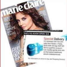 Say no to Botox! I'll stick to the Amp MD roller by Rodan + Fields. Allure, Marie Claire, and InStyle all agree!