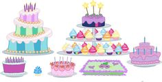 Old My Little Pony, My Little Pony Party, Barbie And Her Sisters, Cupcake Vector, Cute Food Drawings, Sweetie Belle, Princess Twilight Sparkle, Princess Cartoon, Princess Celestia