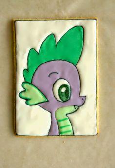 My Little Pony cookies: Spike
