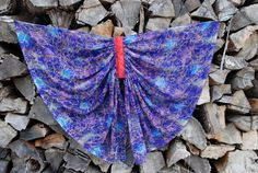 Dragon/Fairy Wings for Imaginative Playmade from a recycled Running Wear, Fairy Wings, Imaginative Play, Dragon, Ballet Skirt, Trending Outfits, Unique Jewelry, Handmade Gifts, How To Wear