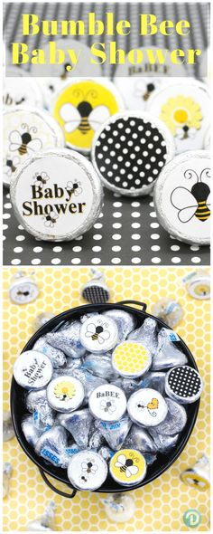 Bumble Bee Baby Shower Favor Idea. Cute and Yummy. #beebaby