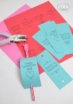 Easy Homemade Valentines Card Idea for Kids | Tween Crafts - Connecting Mom and Daughter through crafting