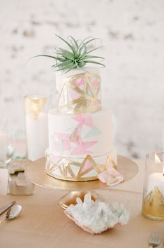 Modern Tropical Wedding Inspiration