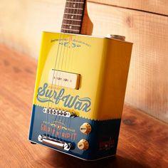 Boho Surf Wax Electric Guitar by Bohemian Guitars #Electric, #Guitar, #Surf