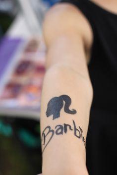 Barbie tattoo #barbie #tattoo