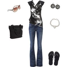 Casual, created by tamara-white-chase on Polyvore