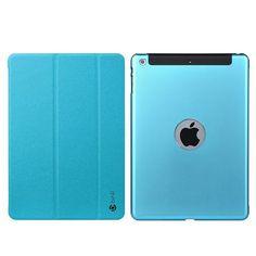 Stylish iPad Case iPad Mini 1/2/3 Protective Cases Metal Slim Cover Blue