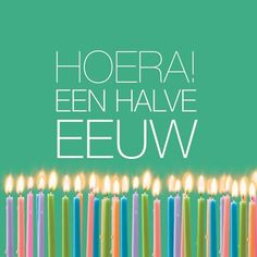 Kaarten - verjaardag man - abraham   Hallmark