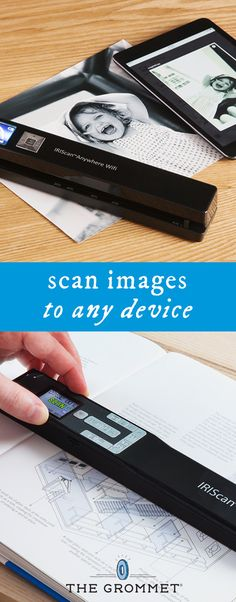 Portable, fast, and high-tech, this dual mouse-scanner sends images directly to your device with sharp images and editable text. Discovered by The Grommet.
