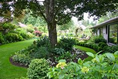 Woodley Garden - view across the yard by Lelonopo, via Flickr