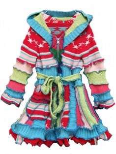 Elf sWEATER cOAT children sweater knitting todler by 1UNIQUEDESIGN, $75.00