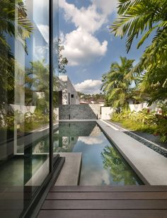 Hijauan House | Twenty Nine Design #water spaces #architecture #water #water architecture