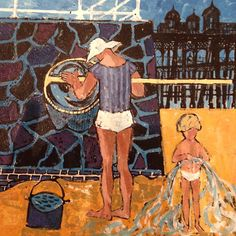 'Eastbourne Seafront' by Robert Tavener