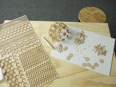 All sizes | laser cut geodesic test assemble | Flickr - Photo Sharing!