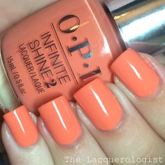 The Lacquerologist: OPI Infinite Shine Summer 2015: Swatches & Review!