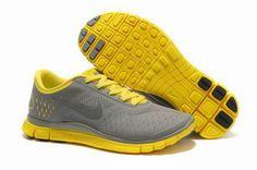 big sale 9363a a8cb5 Hombre Nike Free Zapatillas Carbon De Madera Amarillo