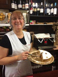 Melenoz, traditional Alentejo confection, 7 layers of walnut flour, wild honey, egg whites #evora - Honey and Nuts Cake, Portugal