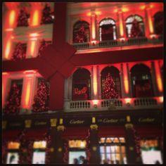 Cartier Christmas 2012 New Bond St London #Cartier