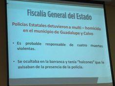 Cae homicida en Guadalupe y Calvo, mató a 4 personas; contaba con halcones quienes lo alertaban de presencia policiaca   El Puntero