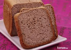 Pan de trigo sarraceno Gluten Free Recipes, Healthy Recipes, Healthy Food, Pan Bread, Food N, Tostadas, Banana Bread, Paleo, Desserts
