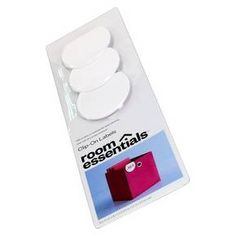 These work great for labeling fabric bins. 3-Pack Dry Erase Fabric Bin Labels - White - Room Essentials™