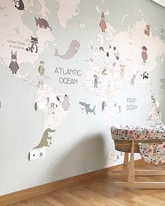 Animals World Map IV – Little Hands