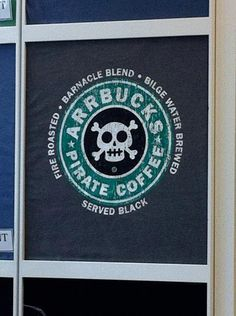 Pirate coffee... arrgggh, I be chewin' some bitter brew. What be yer poison? #pirates