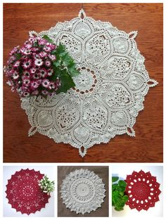 Round table topper 26 inches Crochet beige table topper Big round crochet doily Pineapple table topper Pineapple doily Crochet home decor by CrochetedCosiness on Etsy https://www.etsy.com/listing/227524709/round-table-topper-26-inches-crochet
