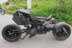 Bored with Your Cycle? Turn It into Your Very Own Batpod! « Props & SFX