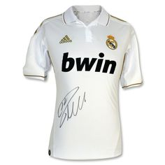 Real Madrid Cristiano Ronaldo Signed Soccer Jersey
