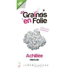 Graines de Achillée Millefeuille Bio - Le Coq Vert