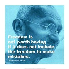 #Gandhi - Freedom #Quote